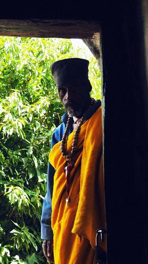 Monk at
