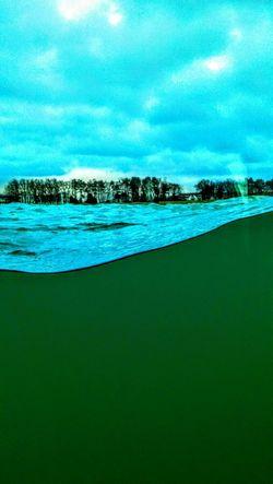 Open Water Eastcoast Eastsea East Sea Green Water Sky Coast Part