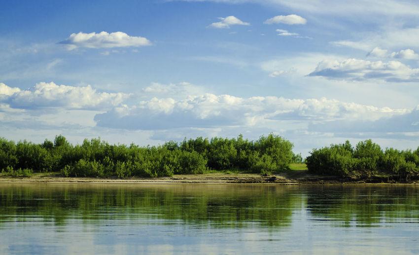 Yakutia Green Color Summer