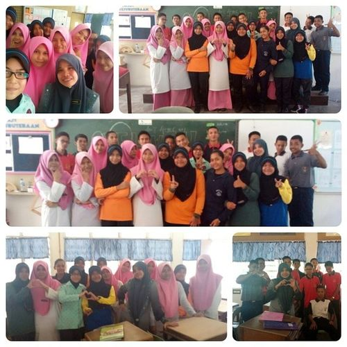 Such a great and best time today. The sad thing was when Puan Shahida had to move to Manjung . Thank you teacher for teach and care about us 4Sc2 . You such as our best mother in the school . Your kindness your funniest wake up our day. Thank you so muchh. Please take a good care at your new school :') We will miss you ♥ Justnow PuanShahida Classteacher Addmath Ootd Potd BrokenEnglish