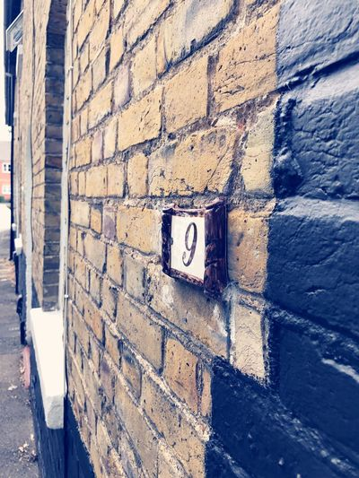 Victorian terrace Victorian Terrace Victorian House Victorian Architecture Brick Wall Close-up House House Number House Number On Wall Lane Old Buildings Building Exterior First Eyeem Photo Vintage Architecture Built Structure Day No People Outdoors Old-fashioned Building Photography Architecture England U.K. 9