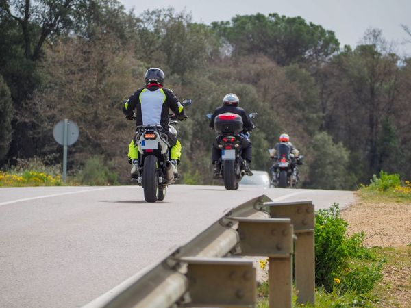 Transportation Mode Of Transportation Land Vehicle Leisure Activity Ride Motorcycle Riding Road Real People Nature Day