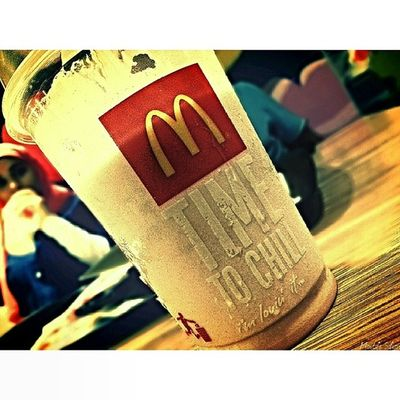 Love it or not it was great taste Milk Shake Fun Great Love delicious woow amazing cool cold love Mac Macdonald