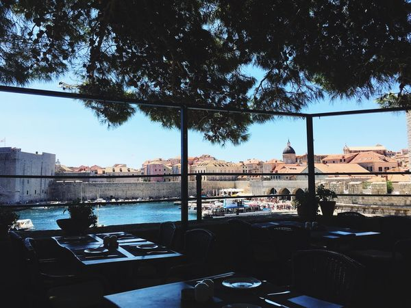 Dubrovnik, Croatia - Chilling under the Maritime Pines Architecture Outdoors Cityscape Terrace Eating Local Food Your Ticket To Europe