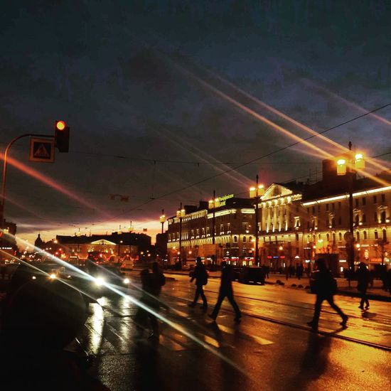 Питер ❤️ Санкт-Петербург Saint Petersburg Steps Outdoors Men Night Nightlife Street Sky Sunset