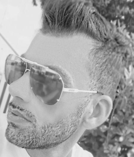 Relaxing Summer Napoli Men Protrait Blackandwhite Terrazza Mensfashion Looking Photo♡ Hello World Lifestyle Black&white