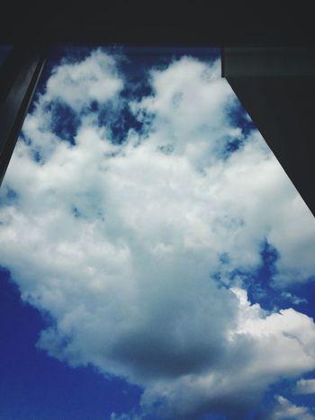 Window to my sorrows. Window Architecture Blue Sky Photo