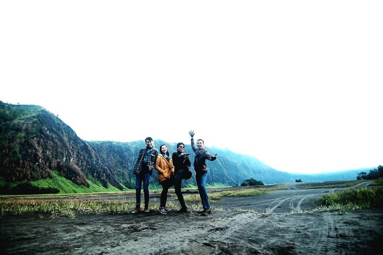 we are the bast friends. Bromo-tengger-semeru National Park Bromo Mountain Indonesia Beach Desert Sand Dune Sand