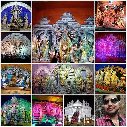 happy durga puja ( worship of godess durga)