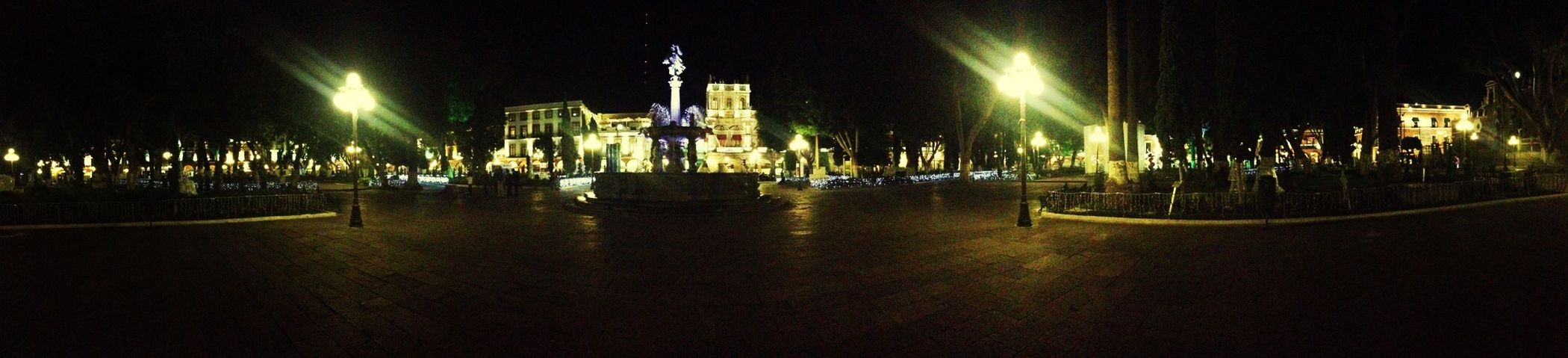 Puebla Zócalo Panorama Cityscapes