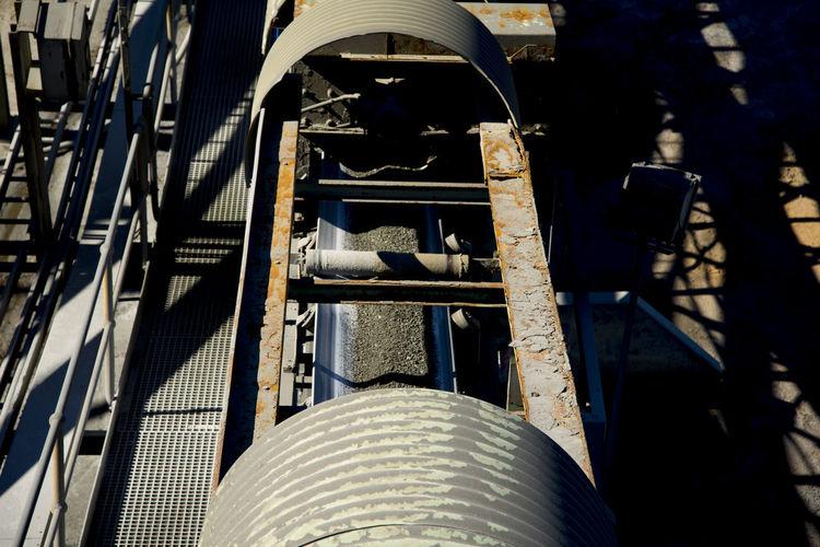 Crushed Ore on Conveyor Belt Mining Mine Australia Crushed Ore Mine Conveyor Belt