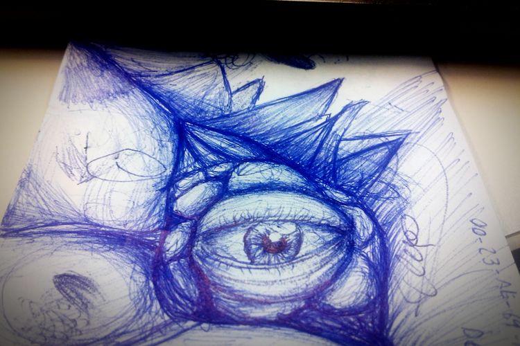 Pen ArtWork Draw Creative Eye Penwork Eye Art, Drawing, Creativity Arte Drawingtime