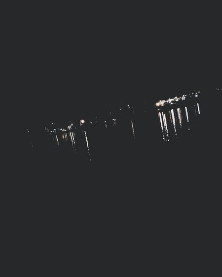 If you're ever at the water front at night, or when its dark you should check out the reflections of the lights on the water ... to me they look like water falls.