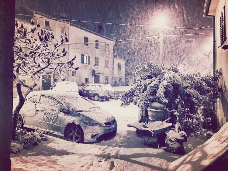 Snowing in Momjan Snow ❄ Fn2 Honda Civic Momjan