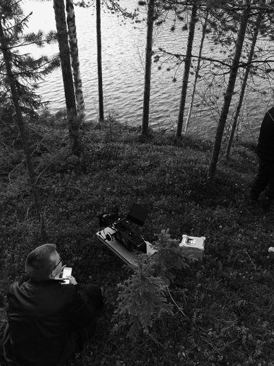 Setlife Love ARRI I Love My Job! Focus Puller 1-AC Life On Set Film Night Shooting Forest