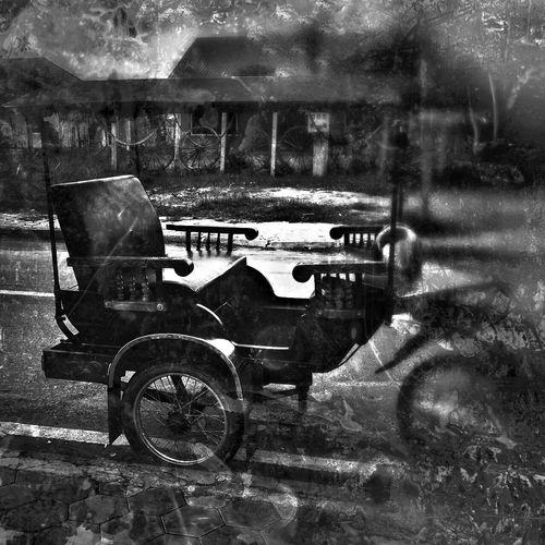 Vintage Cambodia Siemreap Toktok Cars Old Drama Wheels Sad Sadness