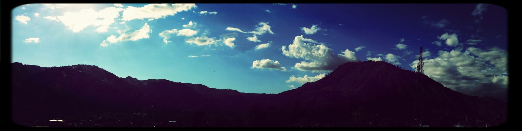 Discover Your City Mountains Sunny Clouds And Sky