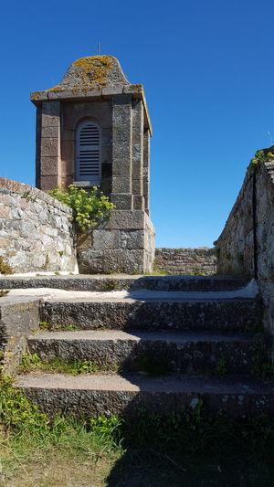 A simple guard tower Built Structure Architecture No People Building Exterior Outdoors Sky Day Clear Sky Castle Castle Wall Elizabeth Castle,