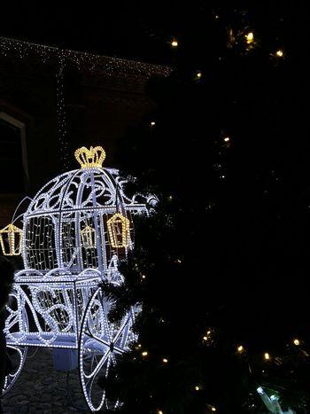 pasaka Raudondvario dvare #Christmas #christmastime #nopeople #Night #tree Close-up Outdoors Illuminated First Eyeem Photo