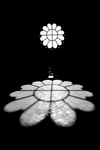Black And White Blanco Y Negro Calatrava La Nueva Church Circle Geometric Shape Iglesia Indoors  Light No People Rosace Rosacea Rose Window Rosetón Shadows & Lights Window Церковь روز نافذة バラ窓 玫瑰窗