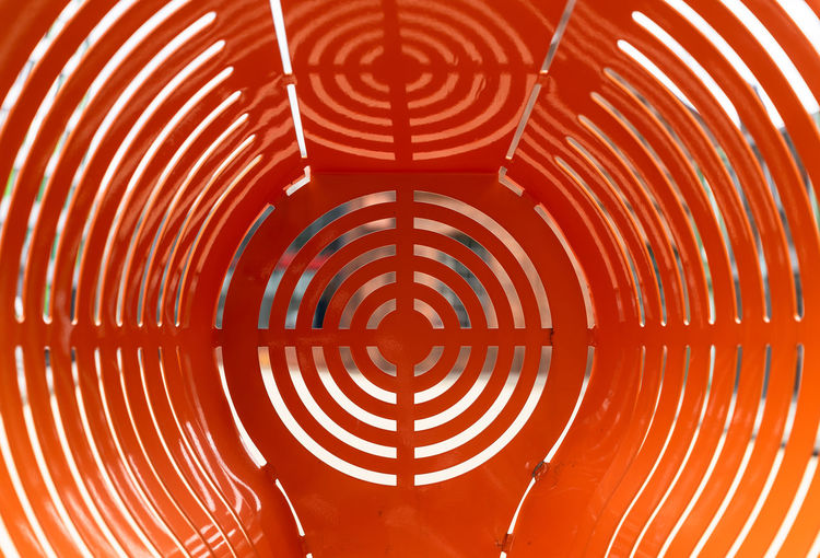 Arts Culture And Entertainment Pattern Full Frame Backgrounds Red Design Shape No People Indoors  Circle Orange Color Geometric Shape Close-up Textured  Abstract Repetition Illuminated Creativity Spiral Glowing Concentric