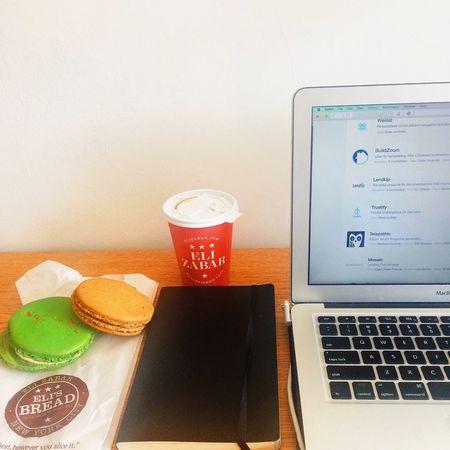 Moleskine Coding Javascript Macrons Dark Roast Coffee Vibes Coffee Break