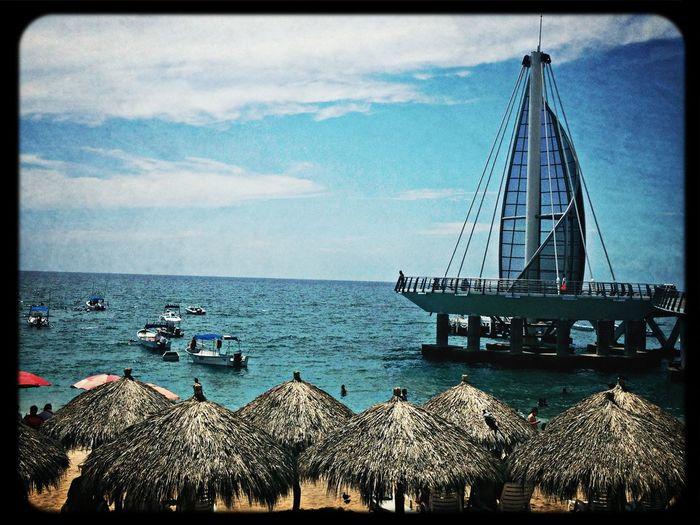 Puerto Vallarta Playa De Los Muertos Sea #pacific Ocean #puerto Vallarta