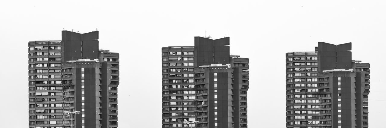 skyscraper in mannheim Mannheim Neckaruferbebauung Apartment Architecture Black And White Blackandwhite Building Exterior Built Structure City Cityscape Clear Sky Community Day Modern No People Outdoors Sky Skyscraper Three Triplets White Background