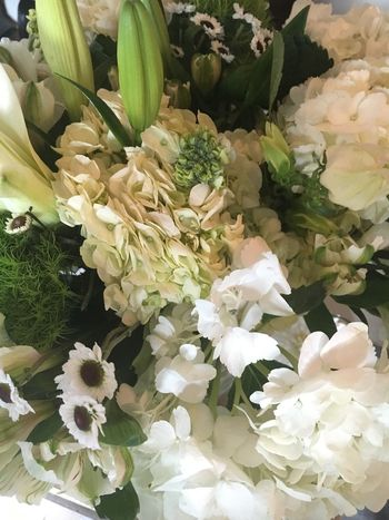 Flowers Flower Bouquet  Flower Arrangement White Ivory Green Elegant Beautiful Fine Art Photography Flower Collection