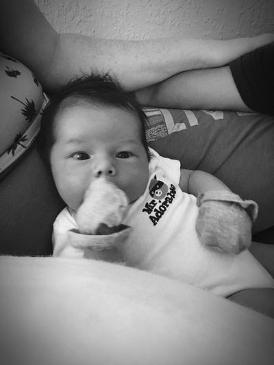 Logan Baby Luv EyeEm Best Shots - Black + White Showcase:June Close-up B&W Portrait Black And White Best Eyeem Pics First Eyeem Photo EyeEm Best Shots Eyeem Market Love Taking Photos Baby Mother Live For The Moment  Art In Everything