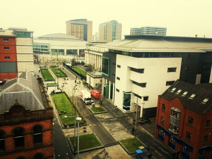 Just looking out from the top of victoria square.