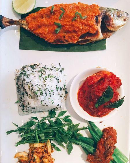 Colour Of Life Food Malaysia Nasi Ulam Taking Photos