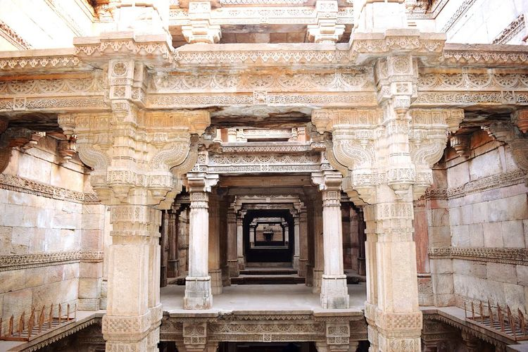 Architecture Built Structure History Architectural Column Architecture Ancient Travel Destinations Stepwell Ahmedabad Adalaj Stepwell Adalajstepwell City