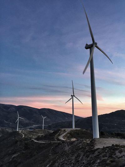 Energia Verde Molinos De Viento Energy Wind