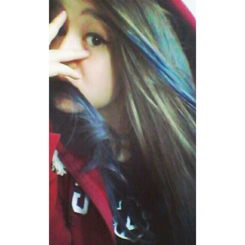 Hi! Cheese! Girl First Eyeem Photo Selfportrait Peace ✌ My Hair <3 Blue Hair Smile ✌ Vitange