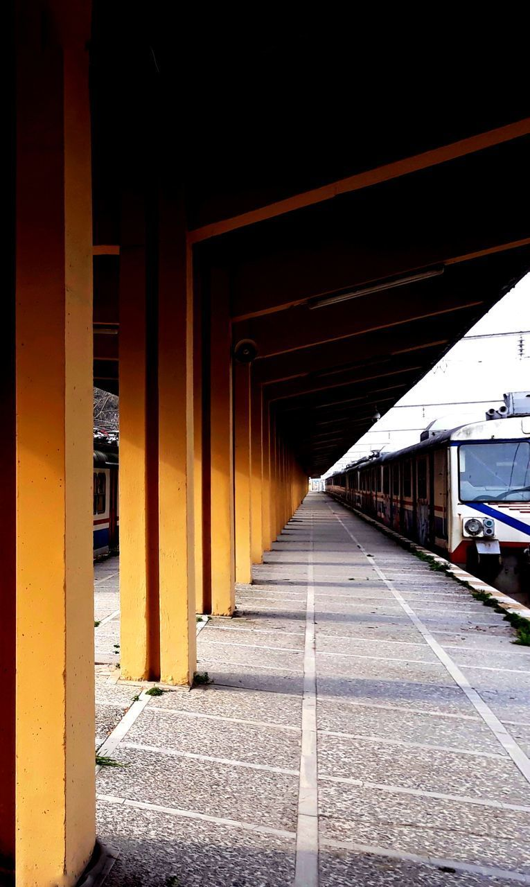 transportation, the way forward, architecture, built structure, architectural column, rail transportation, no people, day, outdoors
