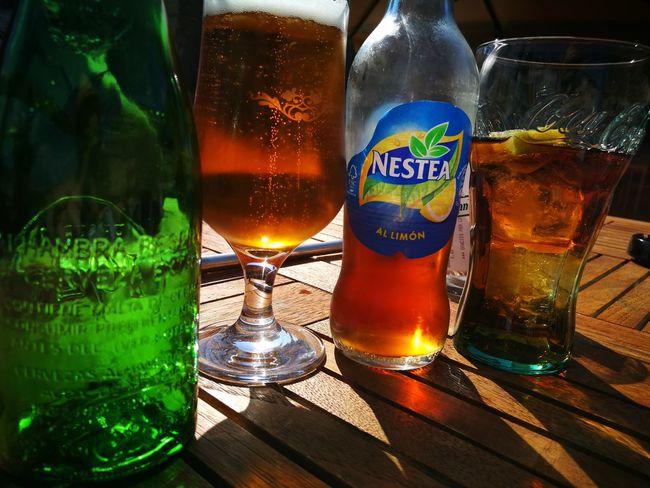Alhambra Nestea Drink No People Sole...☀