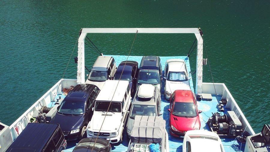 Cars Lake Water