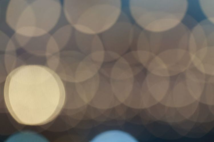 Pattern Geometric Shape Circle Backgrounds Full Frame No People Shape Design Defocused Close-up Abstract Indoors  Shadow Illuminated Night Light - Natural Phenomenon Creativity Focus On Foreground Repetition Light Bokeh