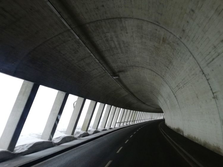 Architecture Bridge - Man Made Structure Connection Tunnel Built Structure Transportation Indoors  No People Day Modern