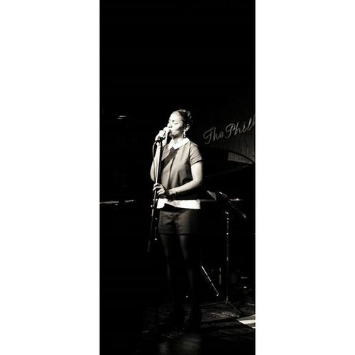 Blackandwhite Bnw Bnw_society Music Jazz Musicband MathildeToussaint Singer