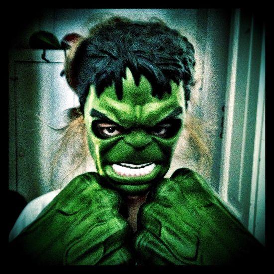 Se faire réveiller par Hulk, ça n a pas de prix...aaaarrgh!!!
