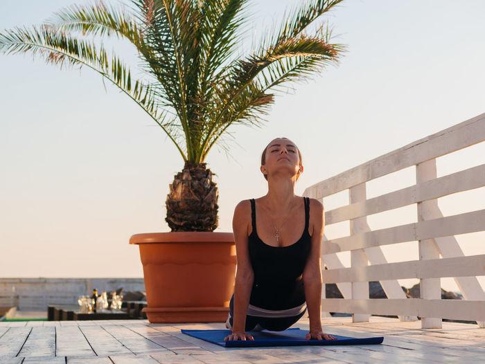 Hands Happiness Love Morning Namaste Practice Woman Yoga Yoga Pose Asana Asanas Beach Caucasian Finess Flexibility Girl Group Of People Ocean Portrait Religion Sea Style Sunrise Surya Namaskar Yogaeverydamnday