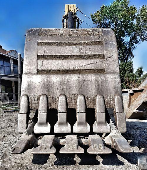 Buldozer No People Construction