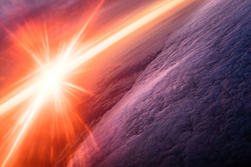 Landscapes With WhiteWall Sunrise Sunshine Sunsplash Sunrise_Collection Sunrise_sunsets_aroundworld Clouds Sky Flying Nature_collection Naturelovers Positive Energy