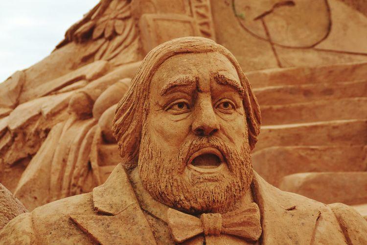 PavarottiSand Sculpture Sand Sculpture Park No People