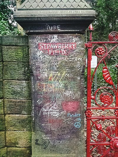 George Martin Tribute The Beatles John Lennon Strawberry Fields Strawberry Fields Forever Liverpool