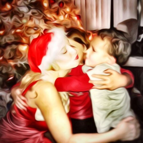 Holiday Love. Mother And Son Bonding Parenting Kids Love Holiday Christmas First Eyeem Photo