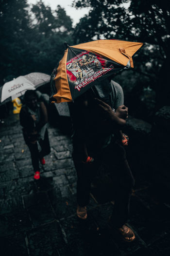 Transformers Travel Photography Travelphotography Nature_perfection Nature Nature Photography Full Length Umbrella Rain RainDrop Rainfall Raincoat Monsoon Rainy Season