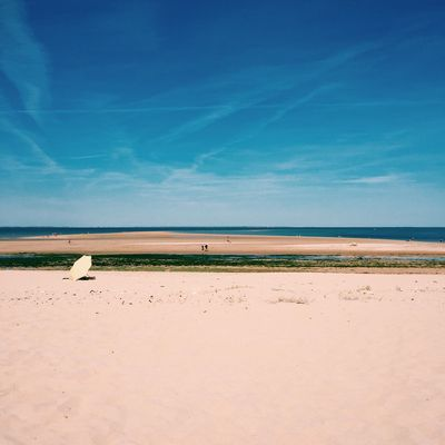 Ré Sky Sand Sea Nature Blue Tranquility Horizon Over Water Beach Water Landscape France Summer